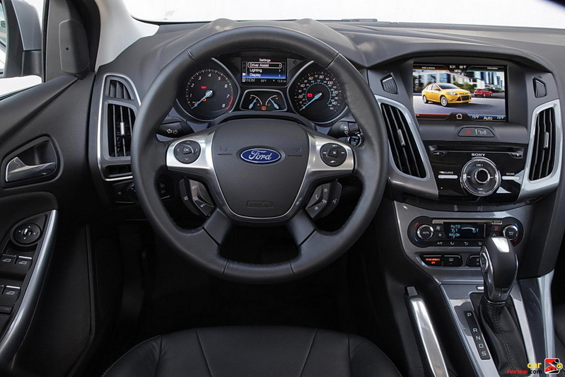 Ford Focus Driver's Cockpit