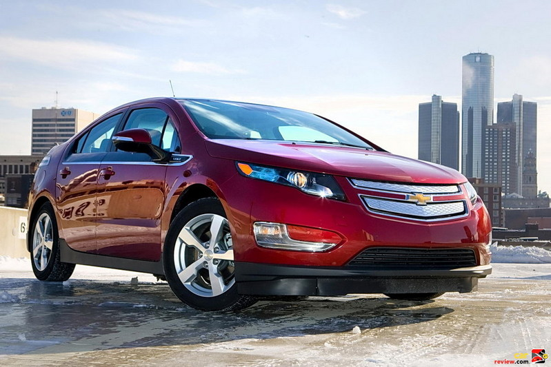 Chevrolet Volt Embracing Chicago Winter