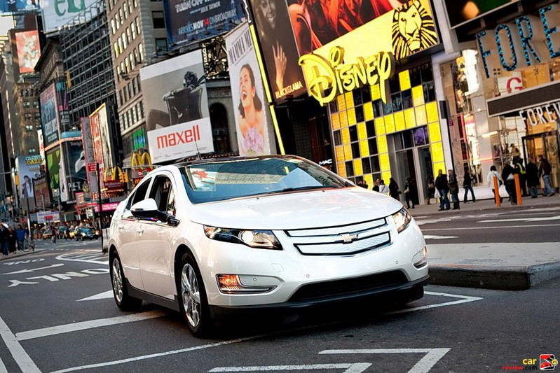 2011 Chevrolet Volt Rolling in NYC