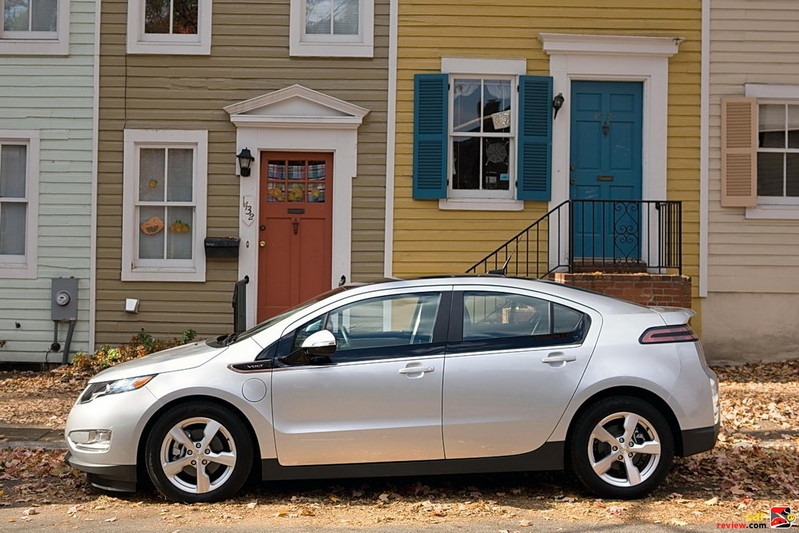 Chevrolet Volt at home in Georgetown