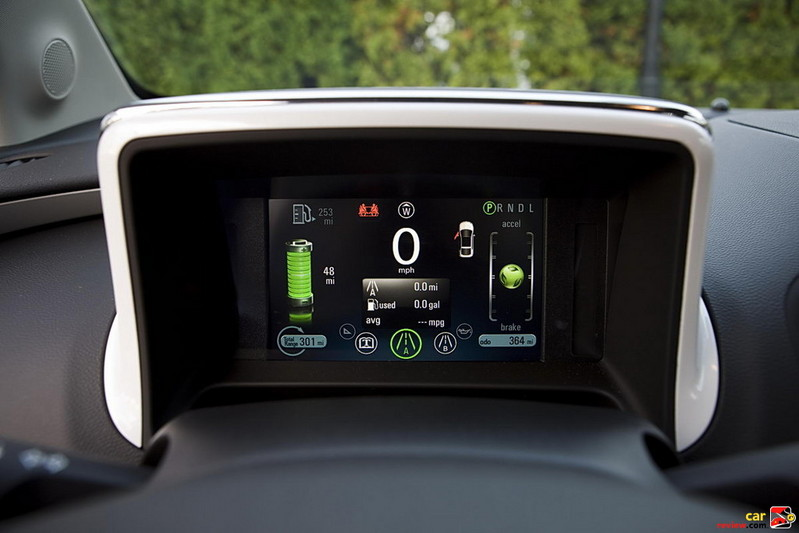 Chevrolet Volt Information Display