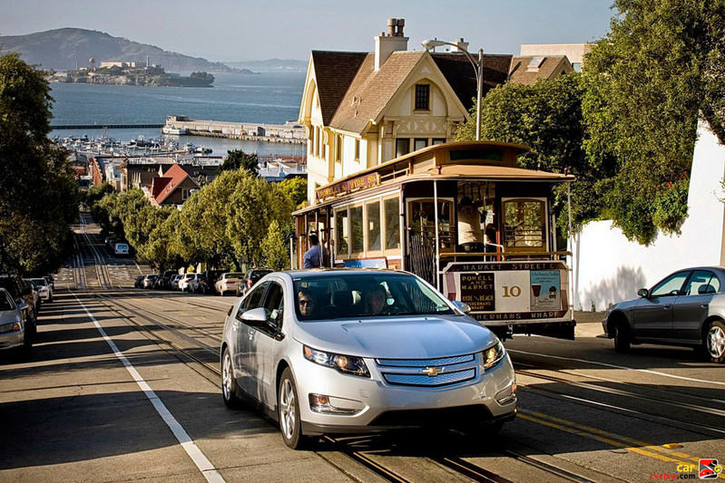 2011 Chevrolet Volt a San Francisco Treat
