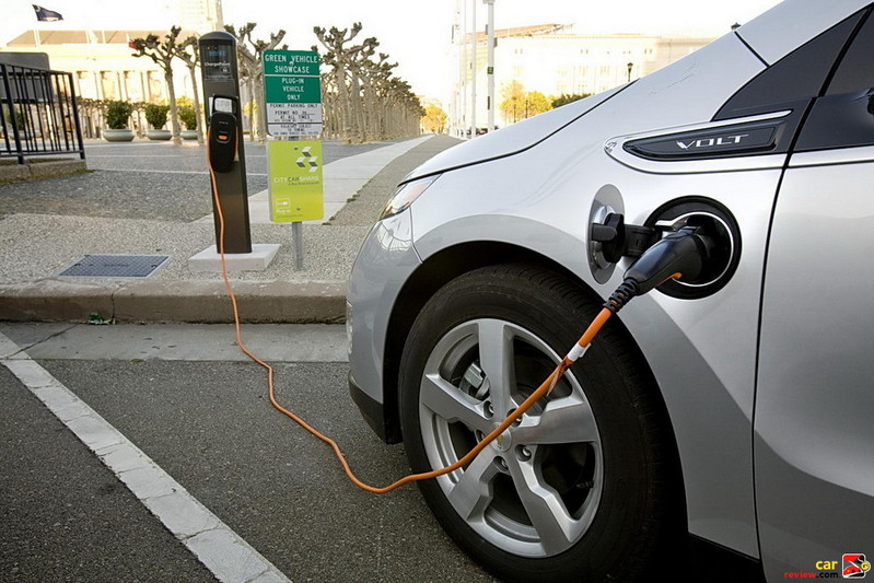 Chevrolet Volt Plugged In