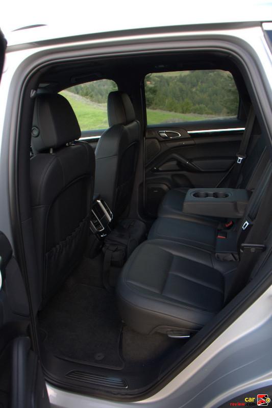 Porsche Cayenne back seats