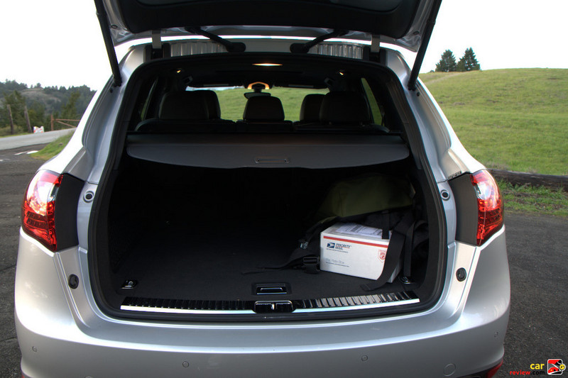 62.9 cubic feet of cargo space with the rear seats folded