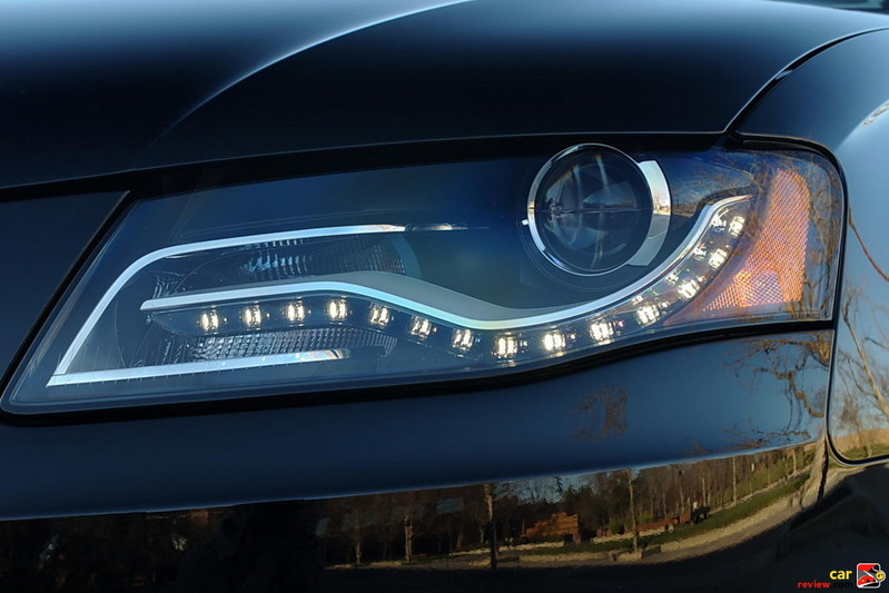 integrated LED daytime running lights