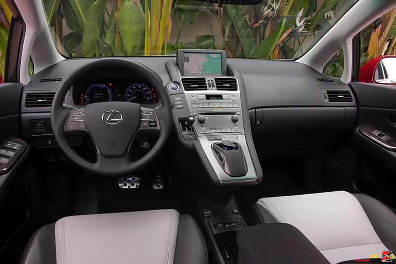 Lexus HS 250h Advanced Interior Design Theme