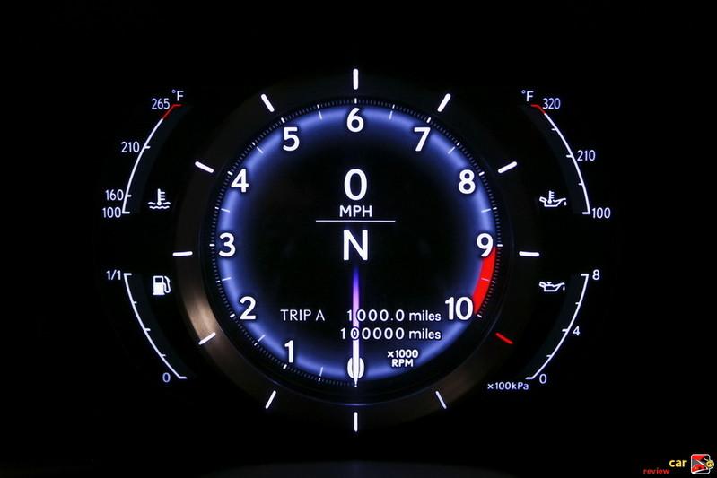 LFA 9000 RPM redline