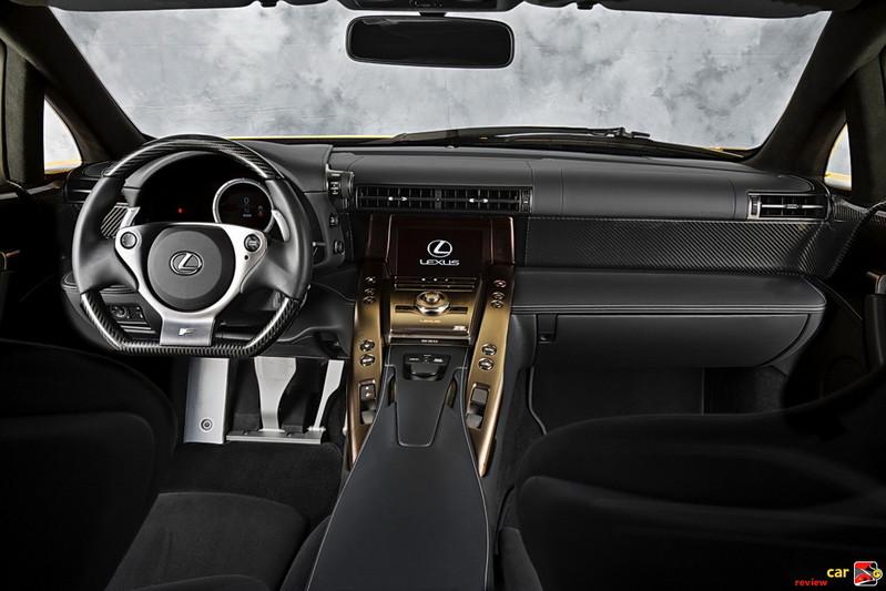 2012 Lexus LFA interior
