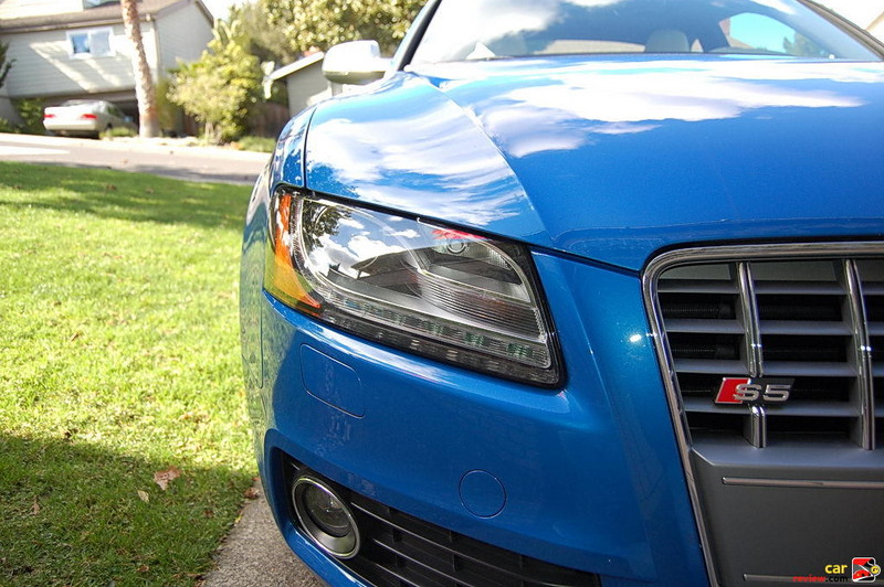 Audi xenon plus headlights