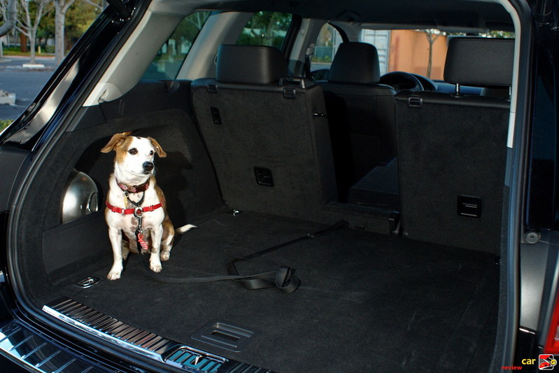 70.9 cu. ft. cargo of  volume with rear seat folded