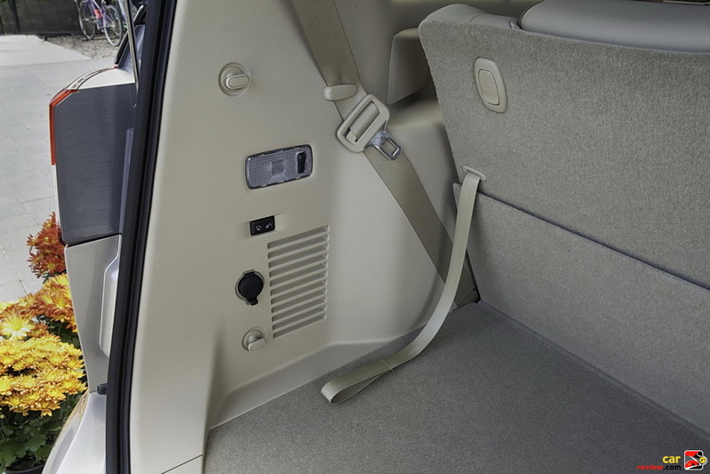 Quick Release third-row folding seatbacks