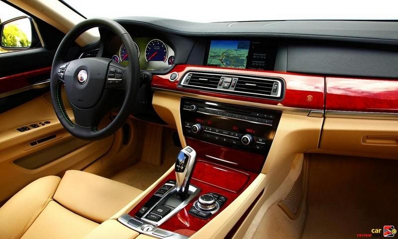 2011 BMW Alpina B7 Interior