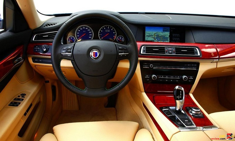 2011 BMW Alpina B7  Interior