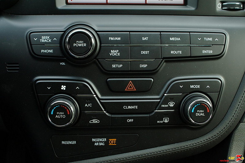 Dual zone full automatic temperature zone