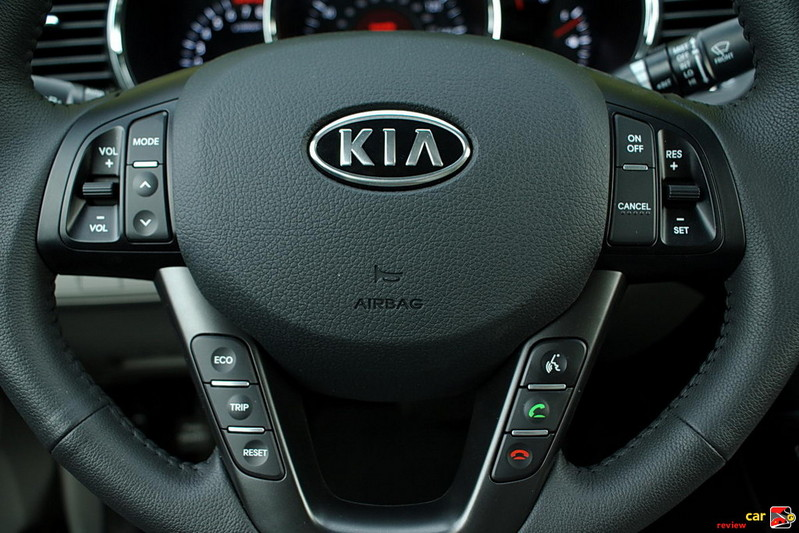 Steering wheel mounted audio and CC buttons