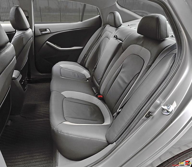 60/40 Split Fold Rear Seats